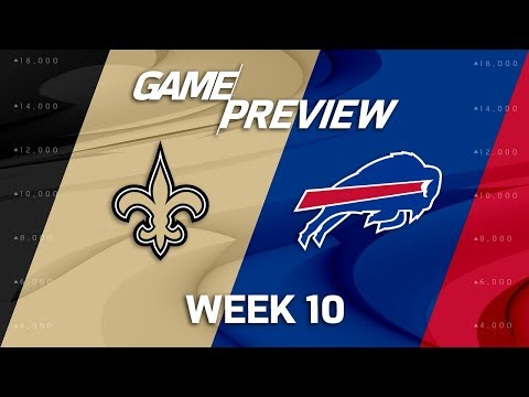 New Orleans Saints vs. Buffalo Bills | NFL Week 10 Game Preview | Move the Sticks