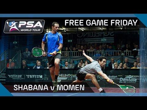 Squash: Free Game Friday - Shabana v Momen - Grasshopper Cup 2014 Final