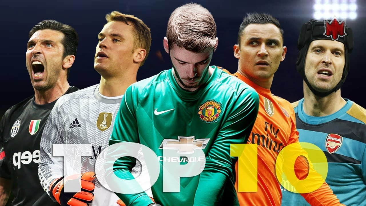 Download Best Goalkeepers Navas ● Buffon ● De Gea ● Courtois ● Ter Stegen ● Cech ... HD