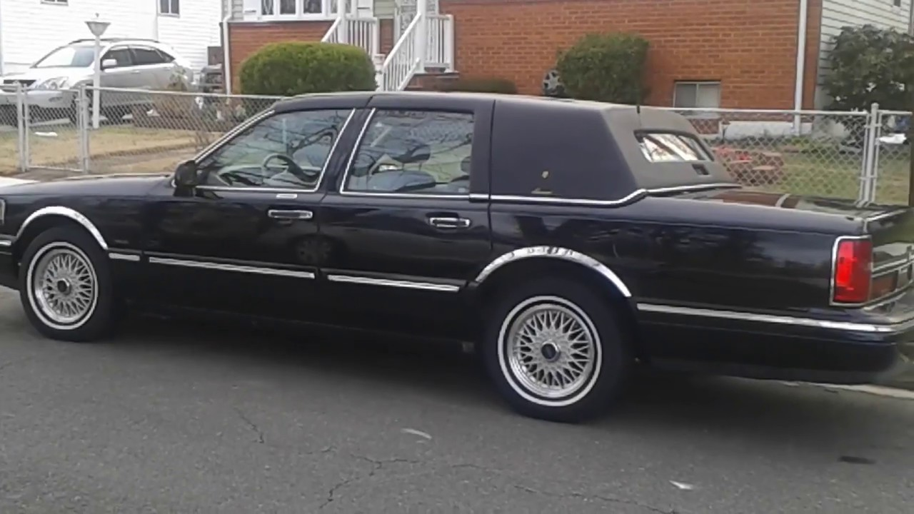 For Ale 96 Lincoln Town Car W Sunroof