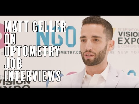 Matt Geller on Optometry Job Interviews | Sponsored by National Vision