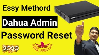 Dahua DVR Admin Password Reset, Forgot password essay recovery