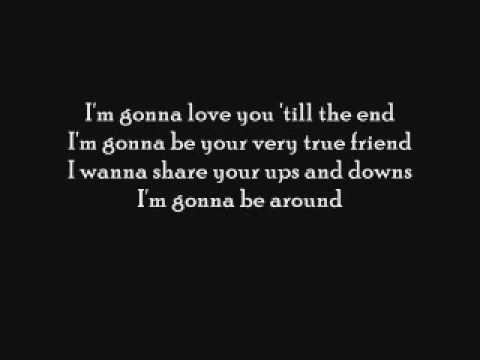 im gonna be around