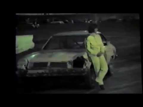 1985 Black Hills Speedway #79 trophy presentation