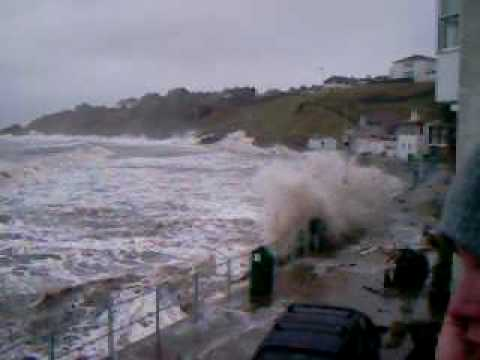 Kinghorn Fife Storm (1) March 2010