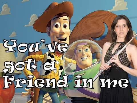 You've Got a Friend in Me - Toy Story (Flute Cover)