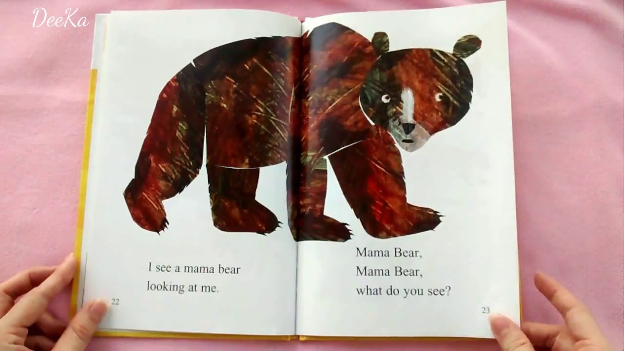 Baby Bear Baby Bear What Do You See By Bill Martin Jr