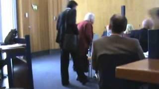 Joyce Brand disrupts council meeting