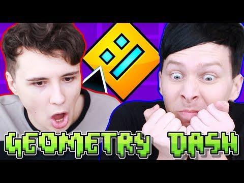 Download Youtube: Dan vs. Phil: GEOMETRY DASH!