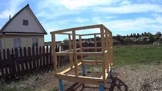 видео Как построить сарай для курей
