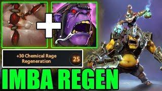 IMBA REGEN = ALWAYS FULL HP ! Ability Draft Dota 2