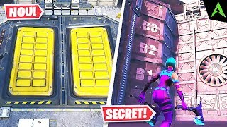 About the BUNKER in * PRESSURE PLANT * SECRET in Fortnite..