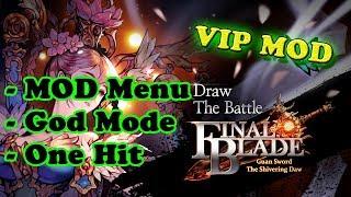 Final Blade (Global) Ver. 1.3.2 MOD Menu APK | God Mode | One Hit Kill |