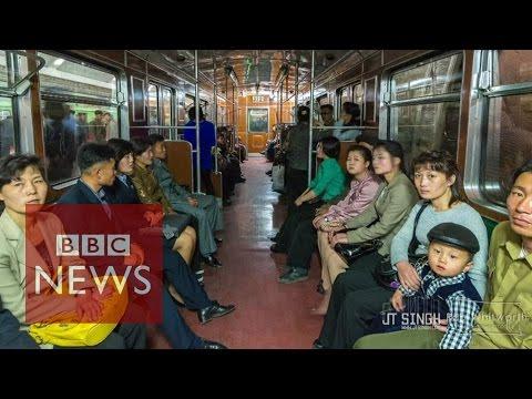North Korean daily life on film - BBC News