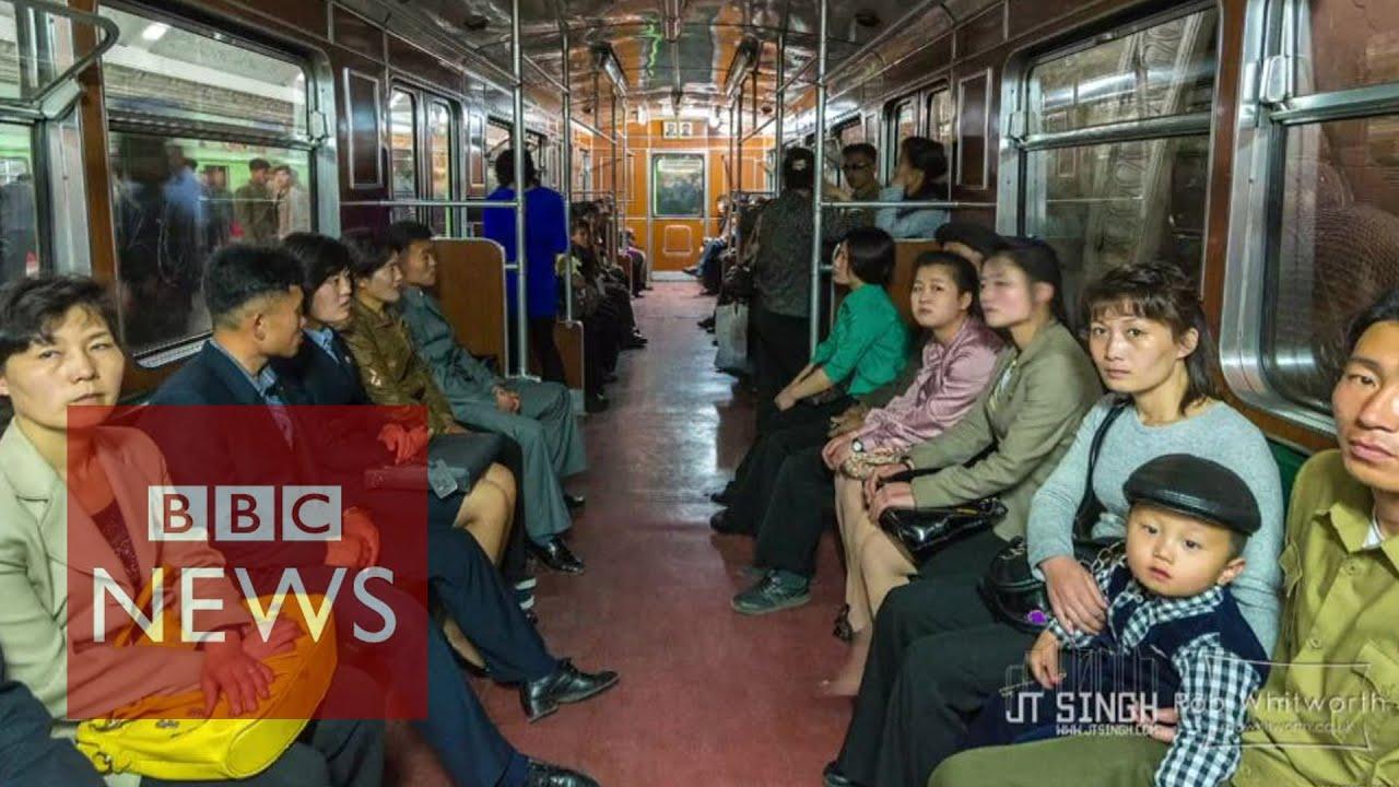 North Korean daily life on film - BBC News - YouTube