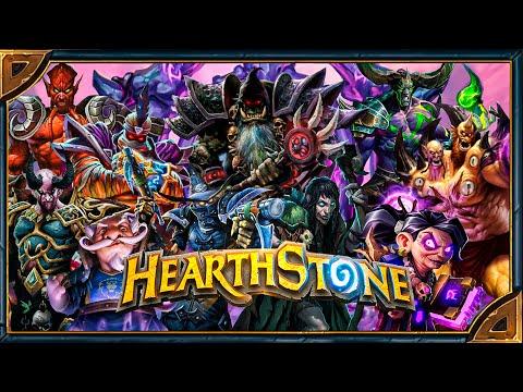 """Hearthstone. Озвучка и анимация 27-и легендарных карт класса """"Чернокнижник"""""""