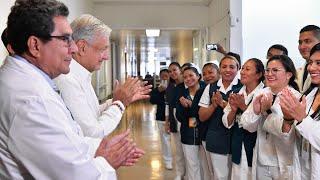 Diálogo con la comunidad del Hospital San Felipe, en San Cristóbal de las Casas, Chiapas