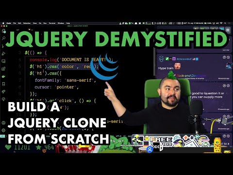 JQuery Demystified - Build A Simple JQuery Clone From Scratch