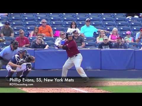 Phillip Evans, SS, New York Mets