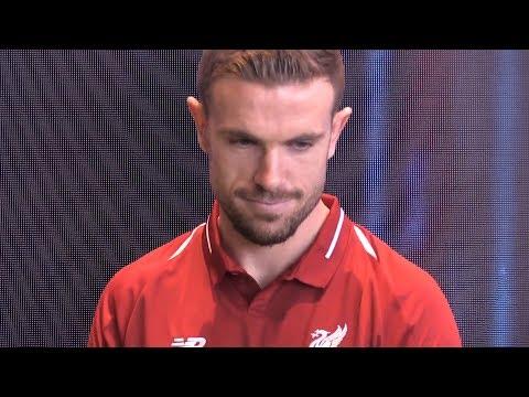 Liverpool Unveil 2018/19 Shirt