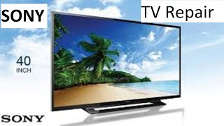 40 inch sony bravia  led television repair. how to repair led television