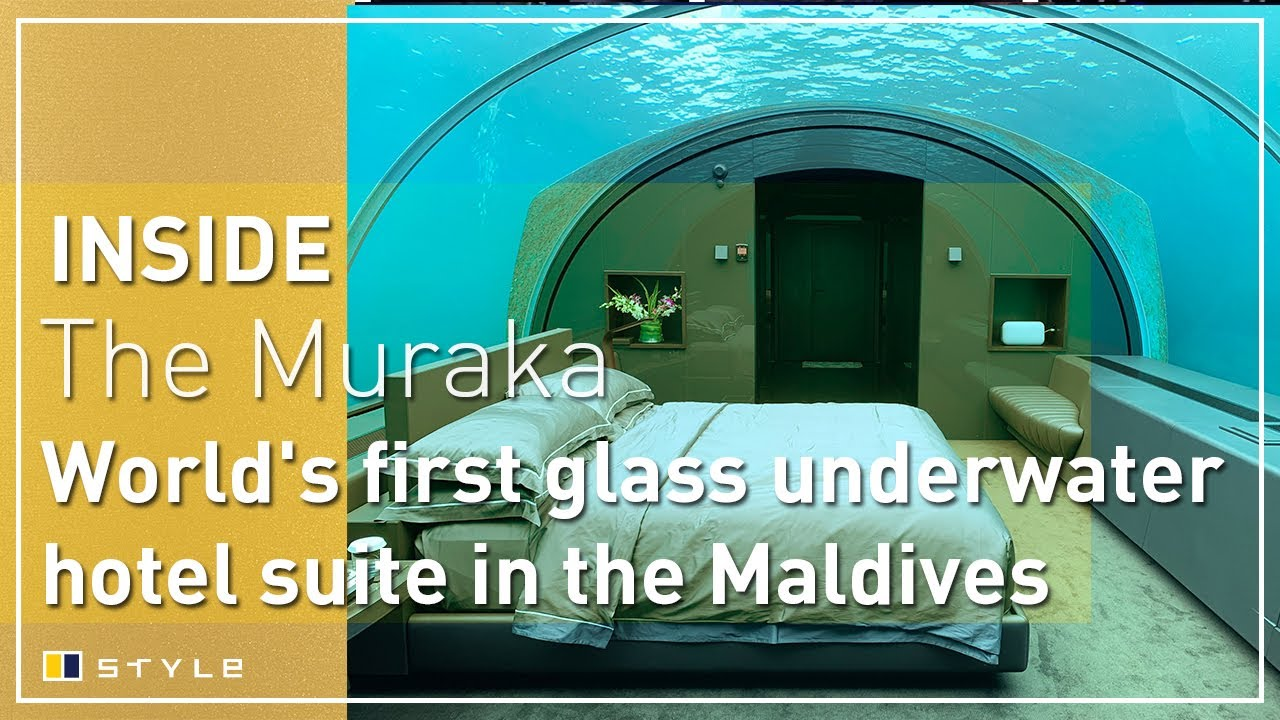 Inside The Muraka The World S First Glass Underwater Hotel Suite At Conrad Maldives