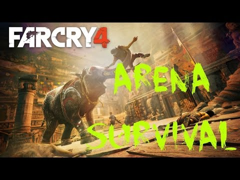 Far Cry 4 ARENA Survival - Elephant Challenge Reached and More!