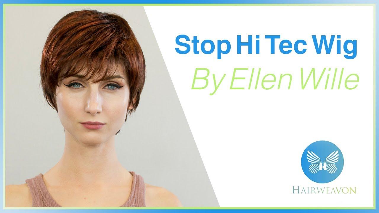 nieźle nowy haj specjalne wyprzedaże Stop Hi Tec Wig | Synthetic Wig with Mono Crown by Ellen Wille