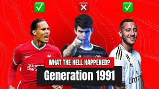 What the hell happened to the best young talents born in 1991? | Oh My Goal