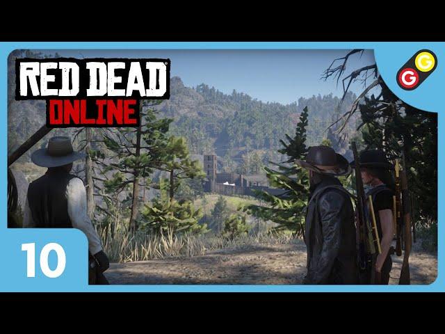 Red Dead Online #10 On attaque un fort ! [FR]