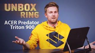 BRANGIAUSIAS EVER KOMPAS!!!   ACER Predator Triton 900   Unbox Ring apžvalga