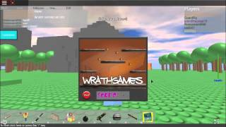 JJ's Nintendo [] Wrath Games [] [ROBLOX 2008 Sim]