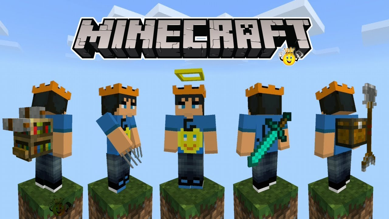 ⭐Como Colocar Skins 10D no Minecraft ❕