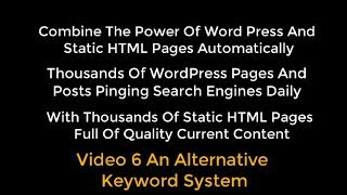 OTP Combining WP With HTML Pages Using Organic Traffic Platform Hybrid Video 6