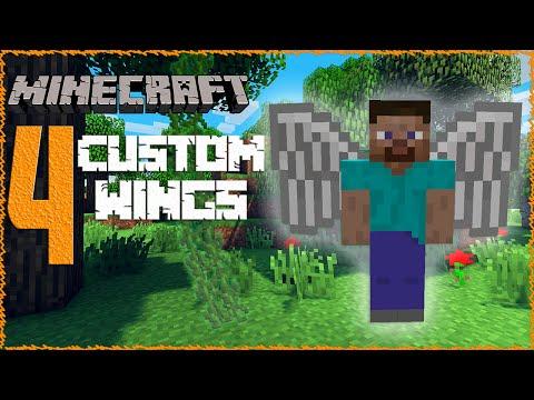 Minecraft 1.9  4 Custom WingElytra Textures Snapshot 15w41b