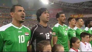 جميع اهداف منتخب العراق في كاس امم اسيا 2015