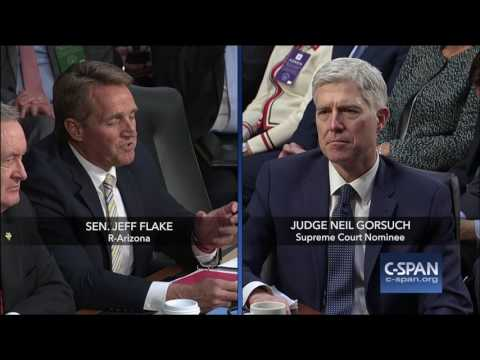 Senators Flake, Grassley and Blumenthal on Cameras in the Court (C-SPAN)
