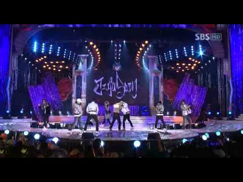 Bigbang - 071229 SBS Music Awards - YG Family {BB+1TYM+JS+SE7EN+CL}