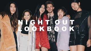 NIGHT OUT LOOKBOOK ft. JENN IM, IAMKARENO, AMY VAGABOND, DREW SCOTT | TOTHE9S