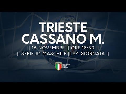 Serie A1M [9^]: Trieste - Cassano Magnago 18-17