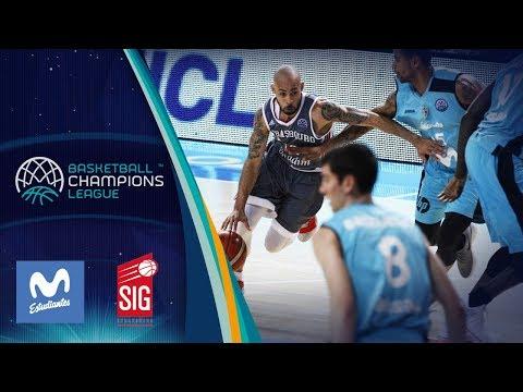 Movistar Estudiantes v SIG Strasbourg - Full Game - Basketball Champions League