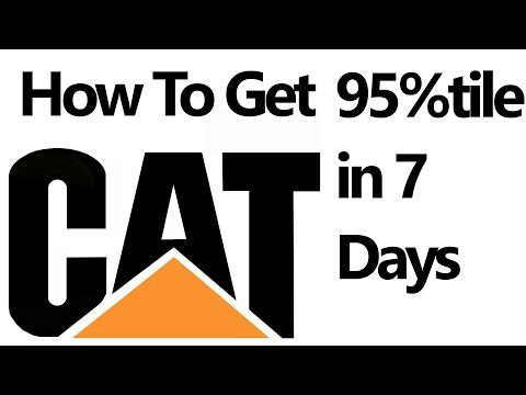 SCORE 95%tile With Seven Days Preparation in CAT EXAM 🙌👍[SECRETS, TIPS, STRATEGY]
