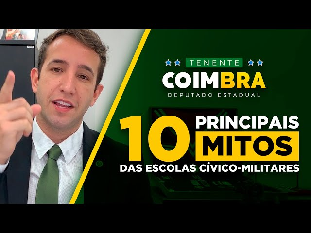 🔰📚 10 MITOS sobre as Escolas Cívico-Militares