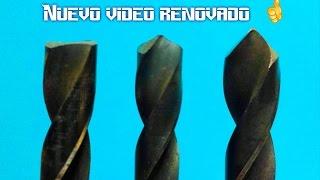 Como reparar y afilar  brocas para metal thumbnail