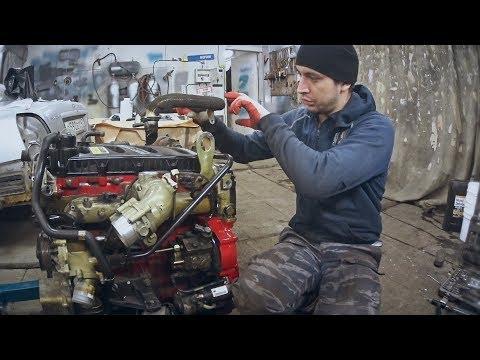 Собираем двигатель Газель Некст. Глушим клапан EGR Cummins 2.8. Регулировка клапанов Камминс