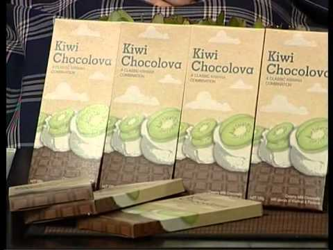 Kiwi Chocolova -a brand new chocolate flavour!