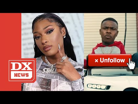 Megan Thee Stallion Unfollows DaBaby After Tory Lanez Drops 'SKAT' Music Video