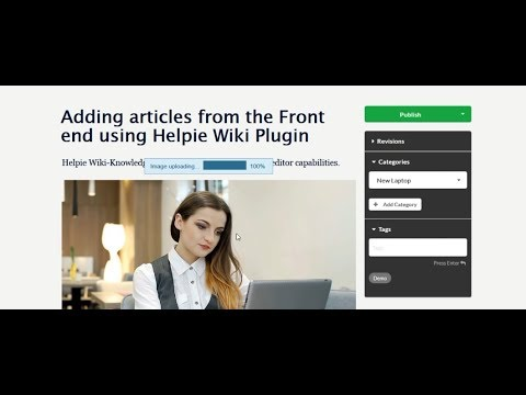 Front-end Editing with Helpie Wiki WordPress Plugin