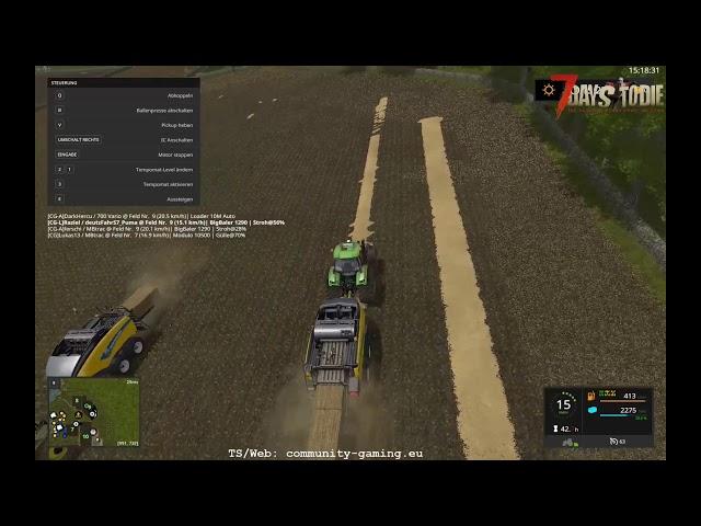 Ballen pressen und Sammeln | Folge #229 | Let's Play Landwirtschafts Simulator 2017