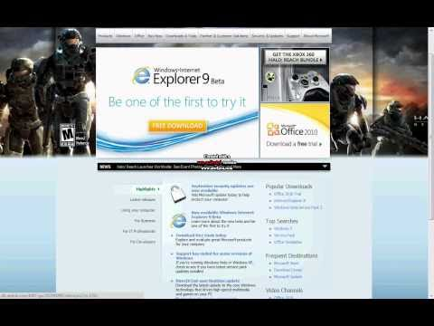 Microsoft Internet Explorer 9 Free Download